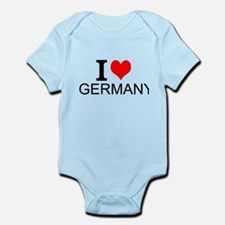 I Love Germany Body Suit