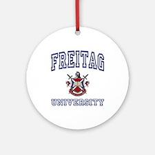 FREITAG University Ornament (Round)