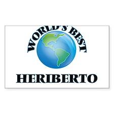 World's Best Heriberto Decal