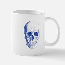 Blue skull Mugs