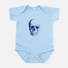 Blue skull Body Suit