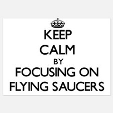 Keep Calm by focusing on Flying Saucer Invitations