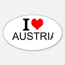 I Love Austria Decal