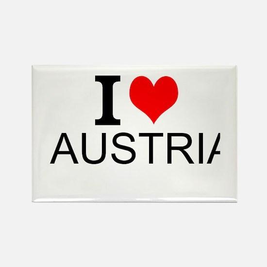 I Love Austria Magnets