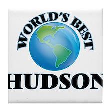 World's Best Hudson Tile Coaster