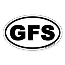 GFS Oval Decal
