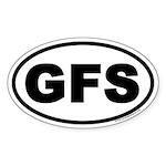 GFS Oval Sticker