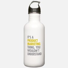 Product Marketing Thin Water Bottle