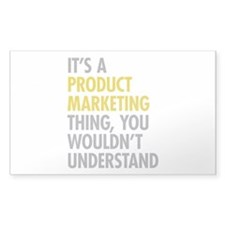 Product Marketing Thing Decal
