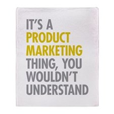Product Marketing Thing Throw Blanket