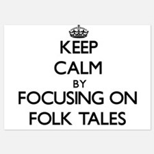 Keep Calm by focusing on Folk Tales Invitations