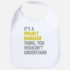 Project Manager Thing Bib