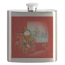 Snowman Days Flask