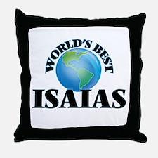World's Best Isaias Throw Pillow