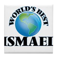 World's Best Ismael Tile Coaster