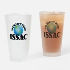 World's Best Issac Drinking Glass