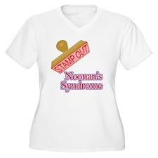 Noonans Syndrome Plus Size T-Shirt