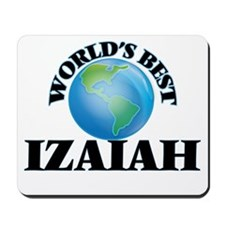 World's Best Izaiah Mousepad