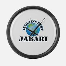 World's Best Jabari Large Wall Clock