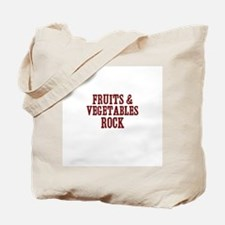 fruits & vegetables rock Tote Bag