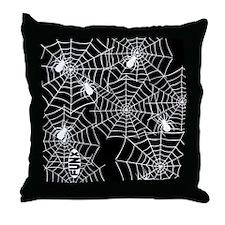 Cute Spiderweb Throw Pillow