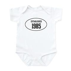 Established 1985 Infant Bodysuit