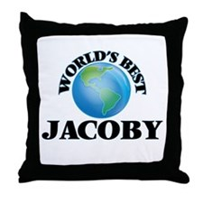 World's Best Jacoby Throw Pillow