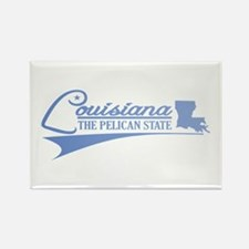 Louisiana State of Mine Magnets