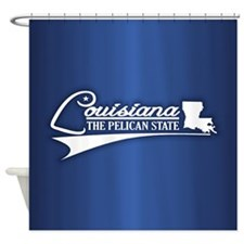 Louisiana State of Mine Shower Curtain