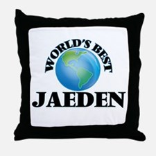 World's Best Jaeden Throw Pillow