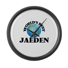World's Best Jaeden Large Wall Clock