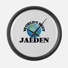 World's Best Jaeden Large Wall Clock