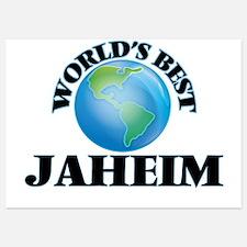 World's Best Jaheim Invitations