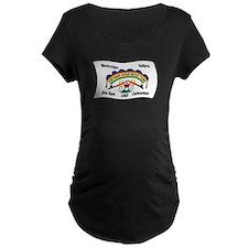 Cheyenne River Sioux Flag 2 T-Shirt