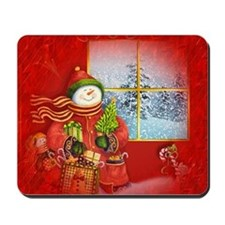 Snowman Days Mousepad