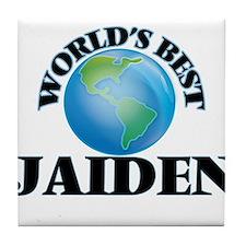 World's Best Jaiden Tile Coaster