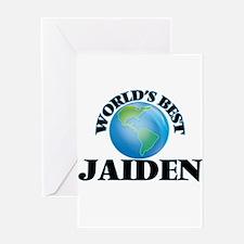 World's Best Jaiden Greeting Cards