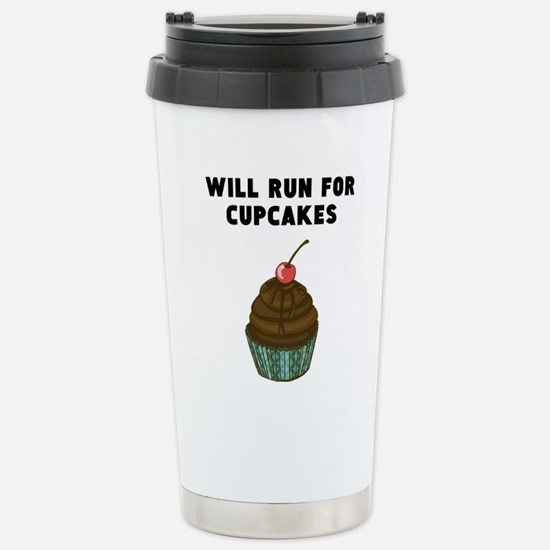 Will Run For Cupcakes Mugs