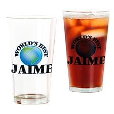 World's Best Jaime Drinking Glass