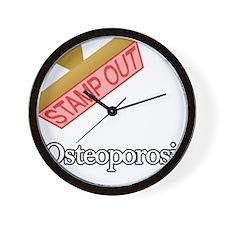 Osteoporosis Wall Clock