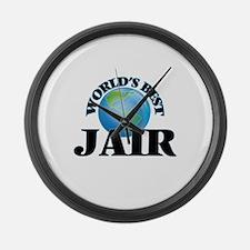 World's Best Jair Large Wall Clock