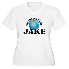 World's Best Jake Plus Size T-Shirt