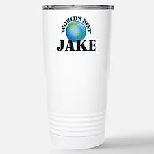 World's Best Jake Stainless Steel Travel Mug