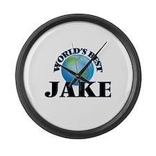 World's Best Jake Large Wall Clock