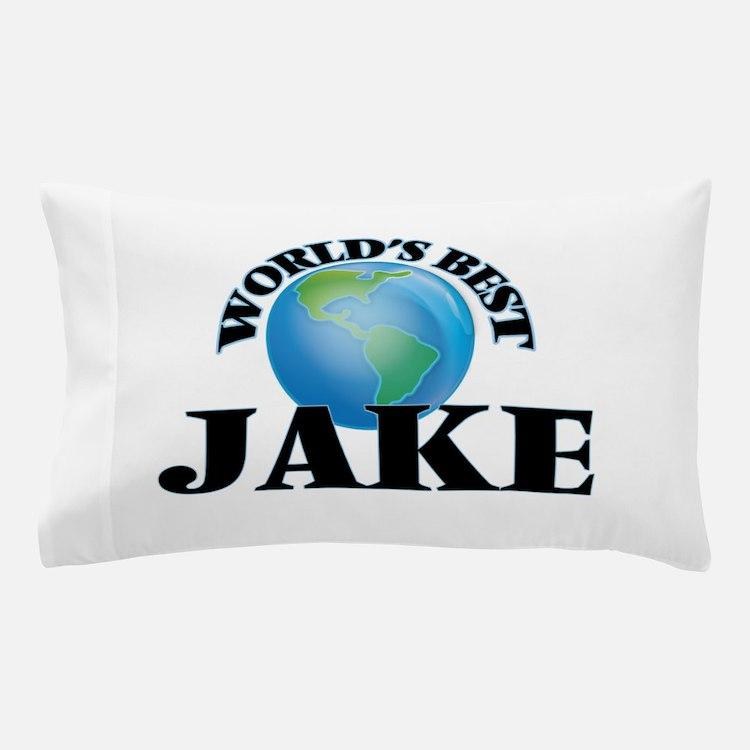 World's Best Jake Pillow Case