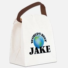 World's Best Jake Canvas Lunch Bag
