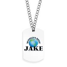 World's Best Jake Dog Tags