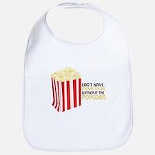 Movie Popcorn Bib