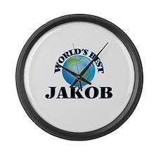 World's Best Jakob Large Wall Clock