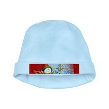 Snowman Days baby hat